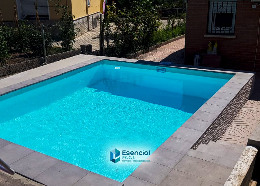 piscina semielevada